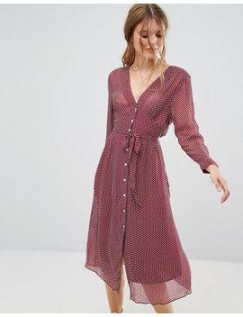 leon-and-harper-rubine-midi-dress-in-dot-print by midi-dress