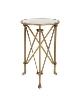 Ballard Designs Olivia Mirrored Side Table