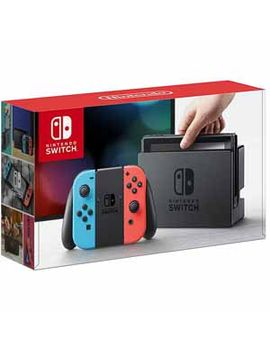 Nintendo   Switch 32 Gb Console With Neon Red/Neon Blue Joy Con by Nintendo