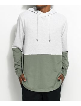 ninth-hall-roots-green-&-natural-hoodie by ninth-hall