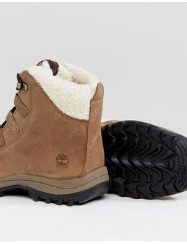 timberland-canard-resort-tan-waterproof-faux-shearling-lined-boots by timberland