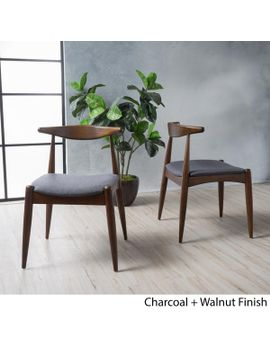 Sandra Mid Century Modern Dining Chairs (Set Of 2) by Gdf Studio