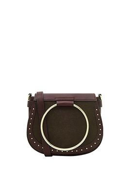 Metal Ring Saddle Cross Body Bag by Accessorize