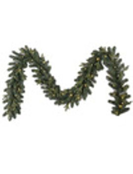 ge-outdoor-pre-lit-9-ft-branch-garland-with-with-with-color-changing-led-lights-lights by lowes