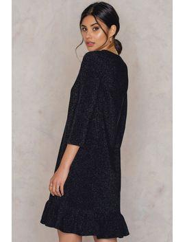 bottom-frill-sleeve-dress-black by na-kd-party