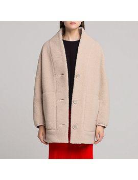 Shoptagr | Women Uniqlo U Fleece Long Sleeve Cardigan by Uniqlo