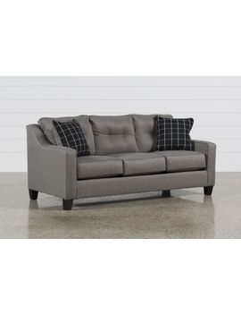 Brindon Charcoal Sofa by Living Spaces