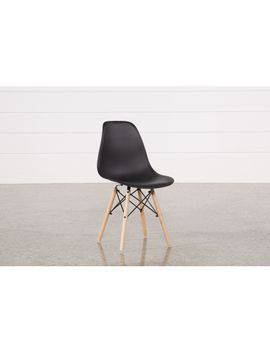 Cole Black Side Chair by Living Spaces