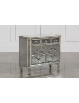 Hayworth Mirrored Chest Of Drawers by Living Spaces