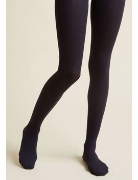 cable-for-discussion-tights-in-mustard by modcloth