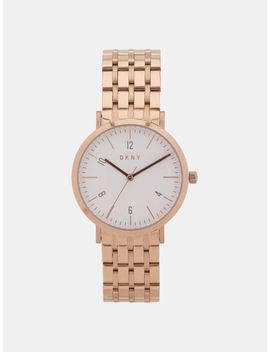 Minetta Rose Gold Tone Watch by Dkny