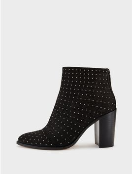 Herald Suede Studded Ankle Boot by Dkny