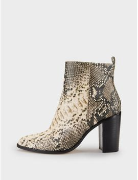 Houston Snake Print Ankle Boot by Dkny