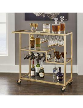 Shoptagr tibo bar cart by willa arlo interiors - Willa arlo interiors keeley bar cart ...