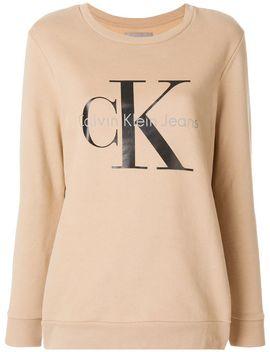 logo-print-sweatshirt by calvin-klein-jeans