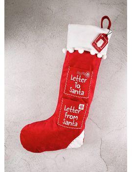 Shoptagr letter to santa christmas stocking 60cm x 26cm by matalan letter to santa christmas stocking 60cm x 26cm spiritdancerdesigns Gallery