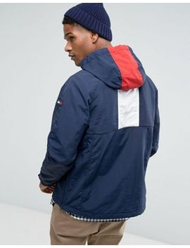 Oversize Icon Beanie in Navy - Navy Tommy Hilfiger