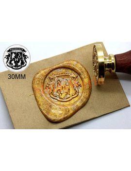 shoptagr harry potter badge wax seal stamp kit wedding invitation