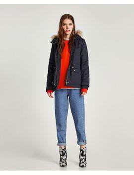 faux-leather-jacket by zara