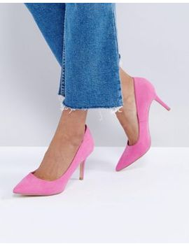 new-look-suedette-court-shoe by new-look