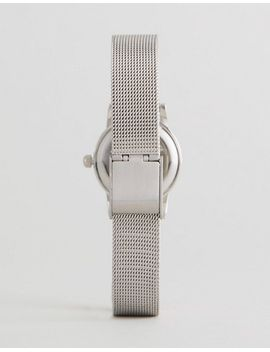 asos-mini-silver-mesh-watch by asos-collection