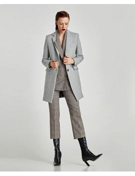 coat-with-shoulder-pads--outerwearsale-woman by zara