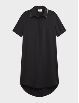 Half Button Front Dress by Dkny