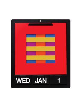 Perpetual Wall Calendar by Mo Ma