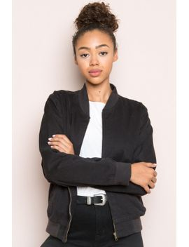 Black bomber jacket brandy melville