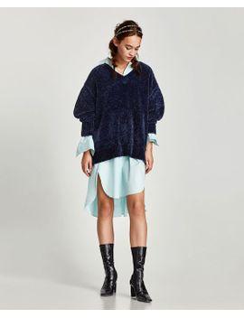 sweater-bÁsica-canelada--básicosmalha-mulher by zara