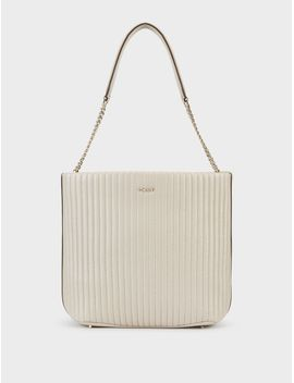 Quilted Nappa Bucket Bag by Dkny