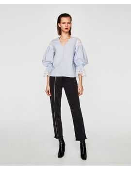 structured-striped-shirt--view-allshirts by zara