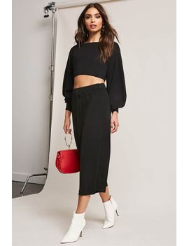 high-waist-buttoned-culottes by forever-21