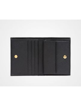 Saffiano Leather Wallet   1 Mv204 Qwa F0002 by Prada