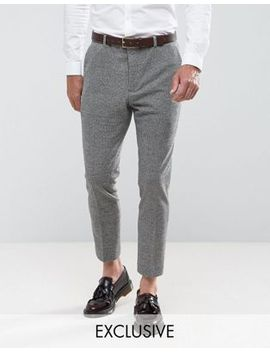 heart-&-dagger-tapered-trouser-in-dogstooth by heart-&-dagger