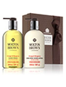 Orange & Bergamot Hand Wash & Lotion Set by Molton Brown