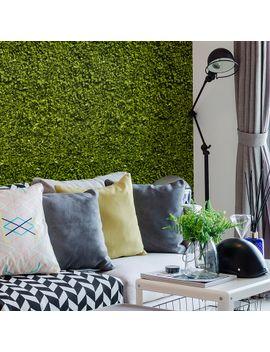 Ficus Green Wallpaper Tiles by Astek Inc. Wallcovering