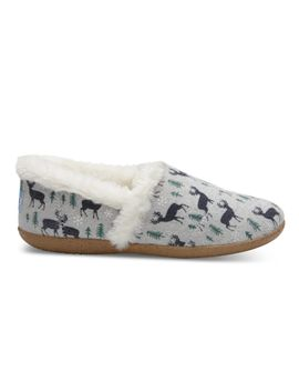 Shoptagr | Drizzle Grey Deer Women\'s House Slippers by Toms