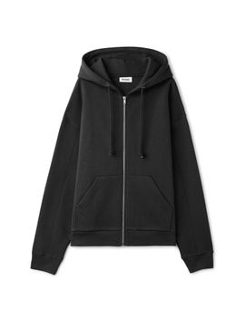 Ailey Zip Hooded Sweatshirt by Weekday