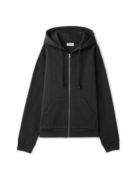 Ailey Zip Hooded Sweatshirt by Weekday