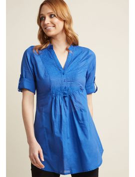 back-road-ramble-tunic-in-blue by modcloth