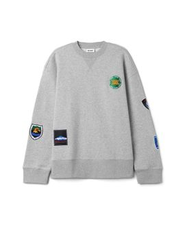 Kyle Patches Sweatshirt by Weekday