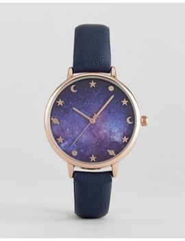 asos-galaxy-print-watch by asos-collection