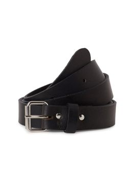 Perfin Leather Belt by Weekday