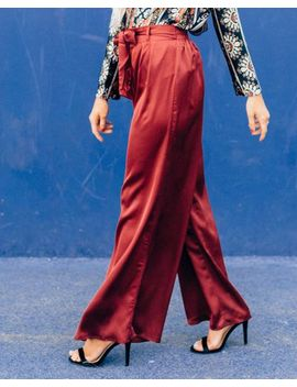 Thea High Waist Wide Leg Pants by Cents Of Style