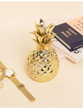 sass-&-belle-gold-pineapple-jewellery-dish by sass-&-belle