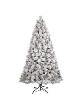 65ft prelit artificial christmas tree flocked douglas fir - 65ft Christmas Tree