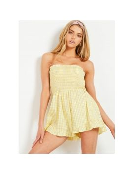 458459b9b6a in-our-dreams-playsuit---yellow-gingham by peppermayo