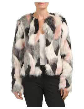 short-faux-fur-jacket by cynthia-rowley