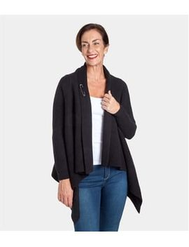 Womens Lambswool Chunky Waterfall Coverup by Wool Overs